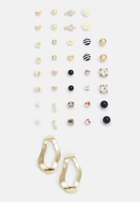 Pieces - PCQAMAR EARSTUDS 20 PACK - Earrings - gold-coloured - 0