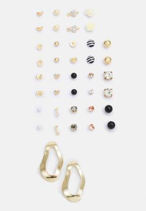 PCQAMAR EARSTUDS 20 PACK - Earrings - gold-coloured
