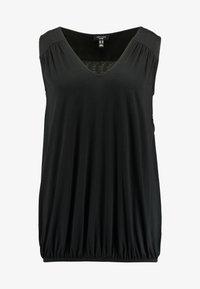 New Look Curves - HEM SLUB - Top - black - 4
