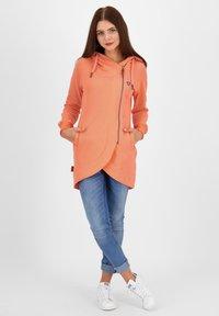 alife & kickin - Zip-up hoodie - peach - 1