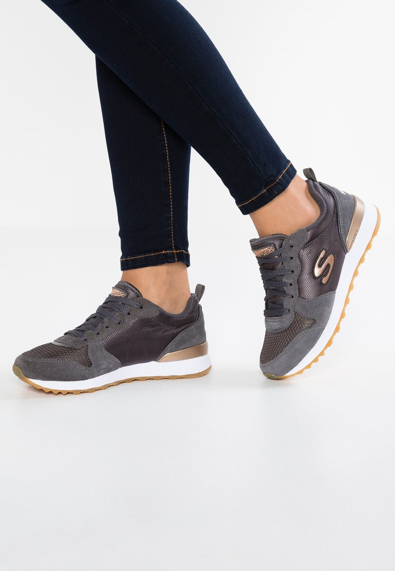 Skechers Sport - OG 85 - Sneakers basse - charcoal/rose gold