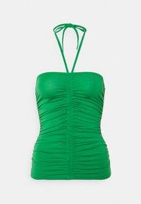 Gina Tricot - FLORENS SINGLET - Top - medium green - 4