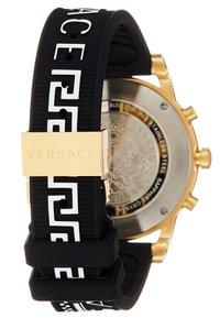 Versace Watches - SPORT TECH - Chronograph watch - black - 2