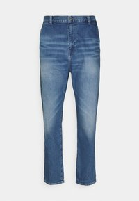 Edwin - UNIVERSE PANT CROPPED - Relaxed fit jeans - blue denim - 4