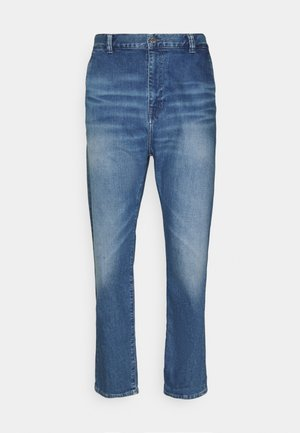 UNIVERSE PANT CROPPED - Relaxed fit jeans - blue denim