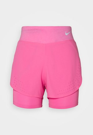 ECLIPSE 2 IN 1 - Sports shorts - pink glow