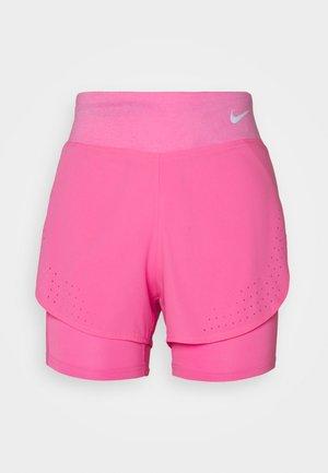 ECLIPSE 2 IN 1 - kurze Sporthose - pink glow