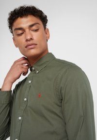 Polo Ralph Lauren - SLIM FIT - Hemd - defender green - 3
