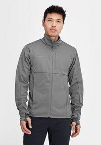Mammut - ULTIMATE  - Soft shell jacket - titanium phantom melange - 0