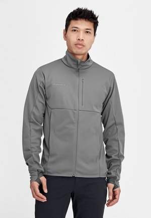 ULTIMATE  - Soft shell jacket - titanium phantom melange