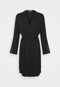 LASCANA - KIMONO - Dressing gown - black - 0
