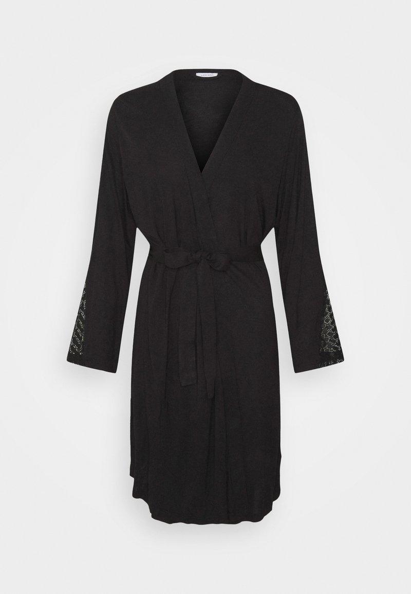 LASCANA - KIMONO - Dressing gown - black