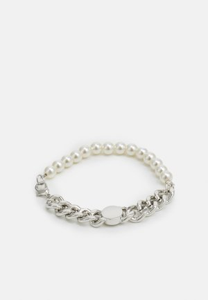 FLAT CHAIN BRACELET UNISEX - Bracelet - silver-coloured