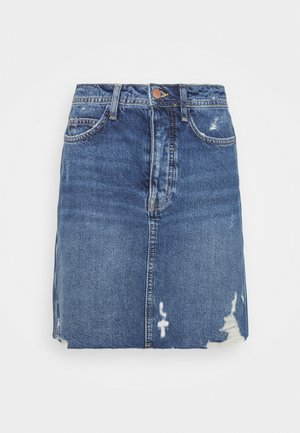 Minifalda -  light blue denim