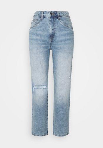 Straight leg jeans - brunwsick blue