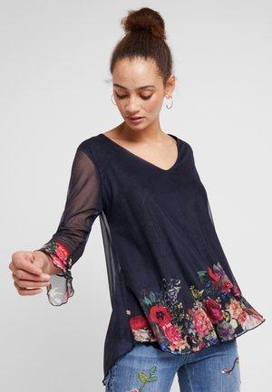 HARA - Långärmad tröja - marino