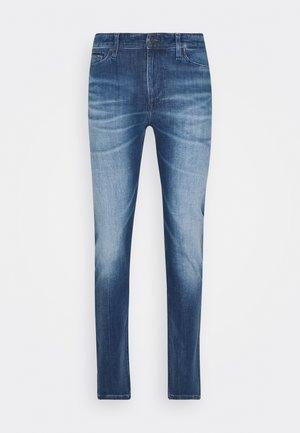 SIMON SKINNY - Skinny džíny - blue denim