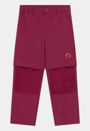 URAKKA MOVE 2-IN-1 UNISEX - Ulkohousut - beet red