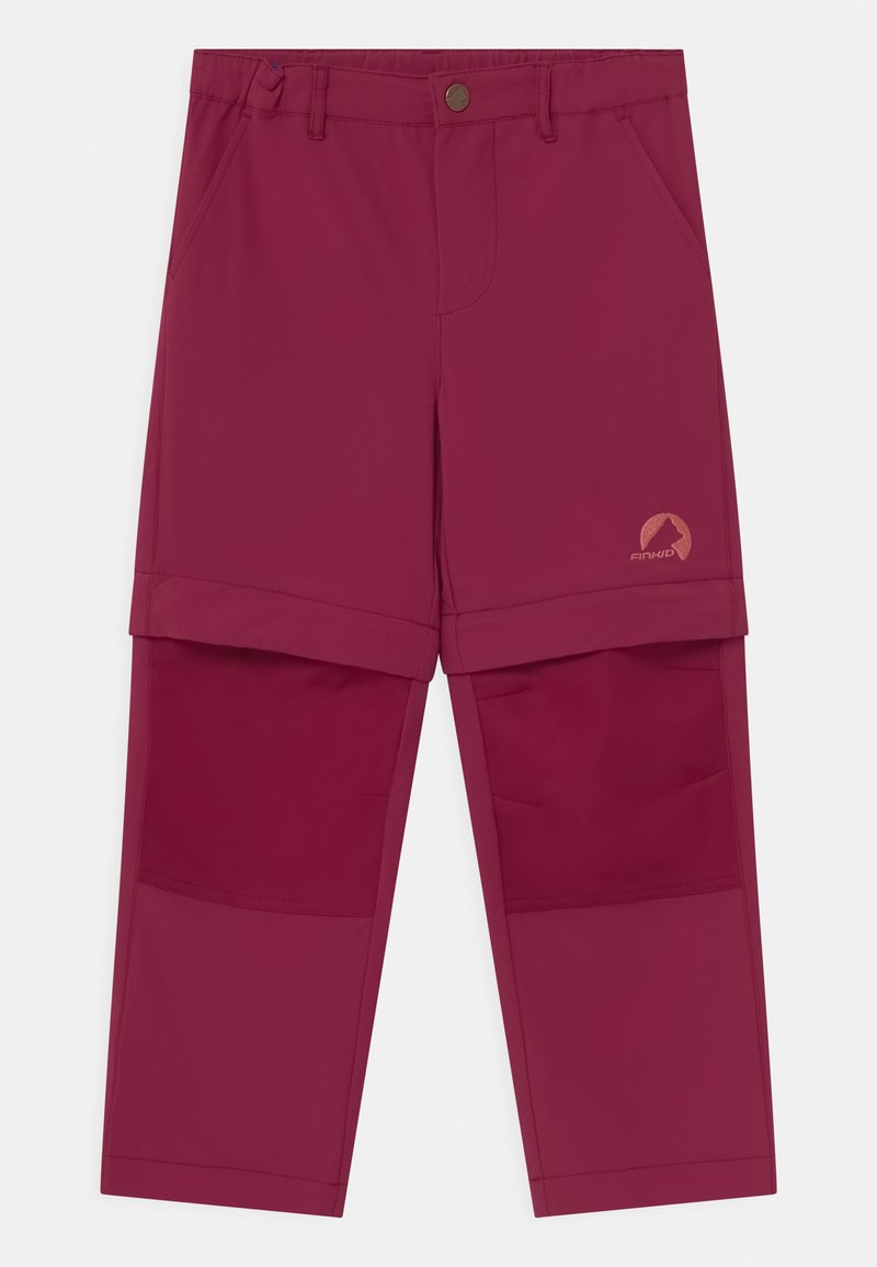 Finkid - URAKKA MOVE 2-IN-1 UNISEX - Outdoorové kalhoty - beet red