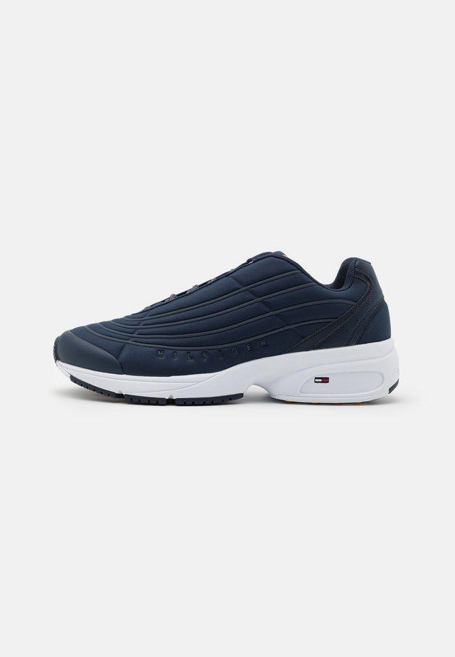 HERITAGE MIX REFLECTIVE - Sneakers laag - twilight navy