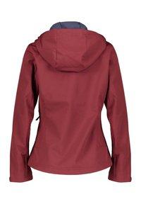Meru - BREST - Soft shell jacket - vino (514) - 1