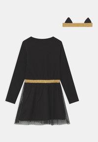Lemon Beret - SMALL GIRLS  - Jersey dress - black - 1
