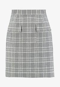 Great Plains London - PARADIS CHECK - A-line skirt - black combo - 3