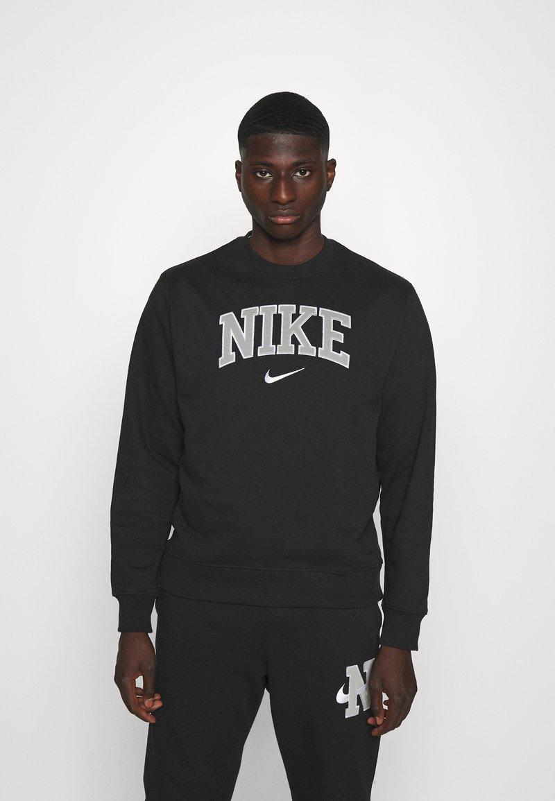 Nike Sportswear - RETRO CREW - Sweatshirt - black