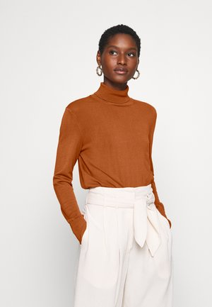 NOVELLA ROLENECK - Jumper - brown