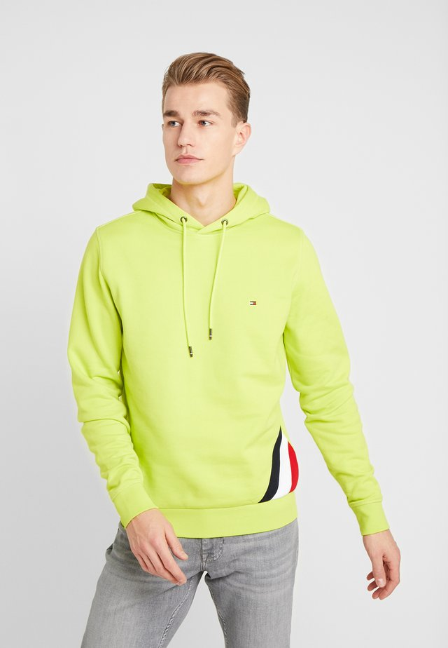 DIAGONAL HOODY - Sweat à capuche - green