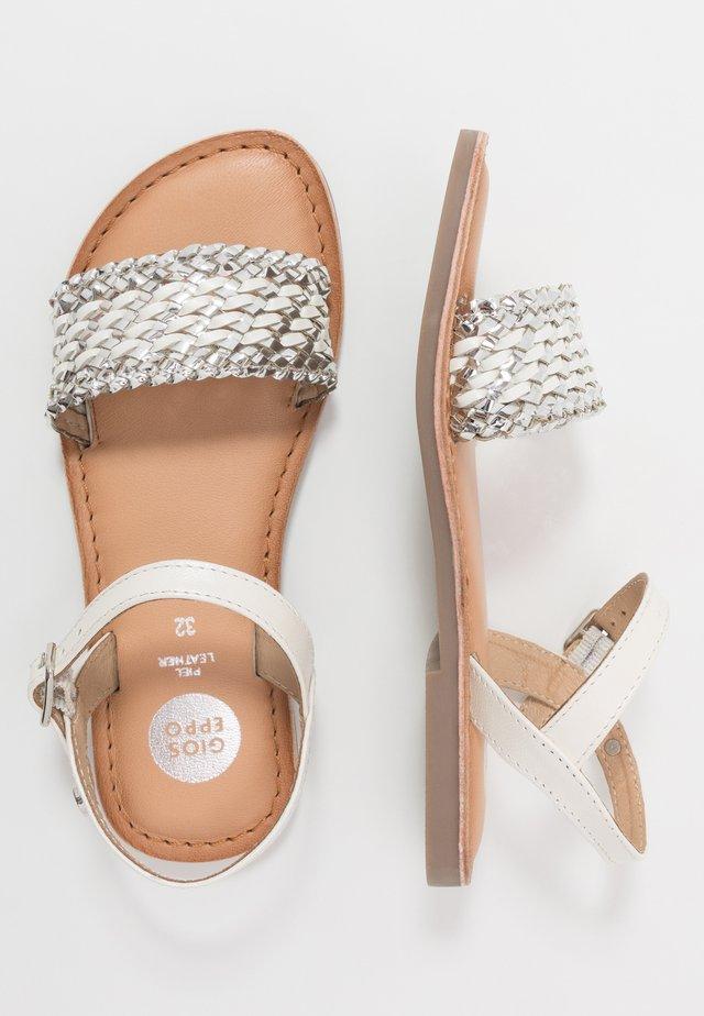 UPLAND - Sandals - white