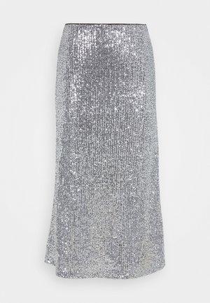 VIOLA SKIRT - Jupe trapèze - silver