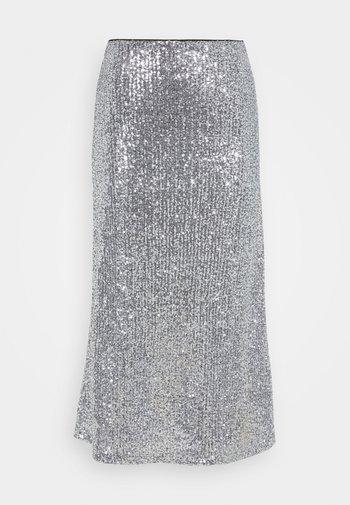 VIOLA SKIRT - A-line skirt - silver