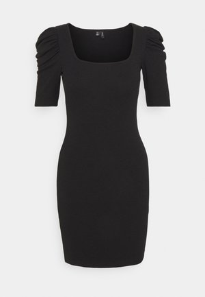 VMMINNIE SQUARE DRESS - Shift dress - black