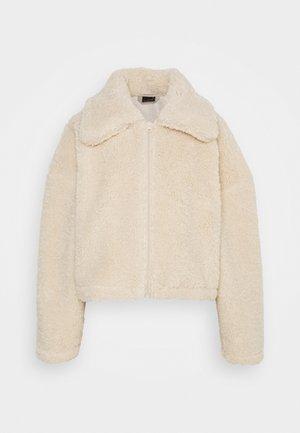 DARLA JACKET - Winter jacket - beige fluff