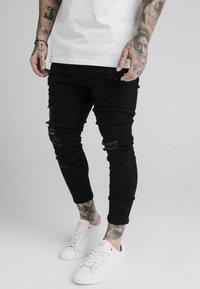 SIKSILK - ULTRA DROP CROTCH - Jeans Skinny Fit - black - 4