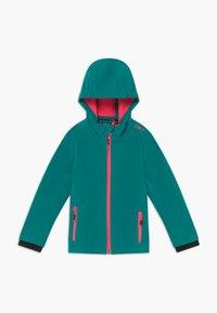 CMP - GIRL FIX HOOD - Soft shell jacket - lake - 0