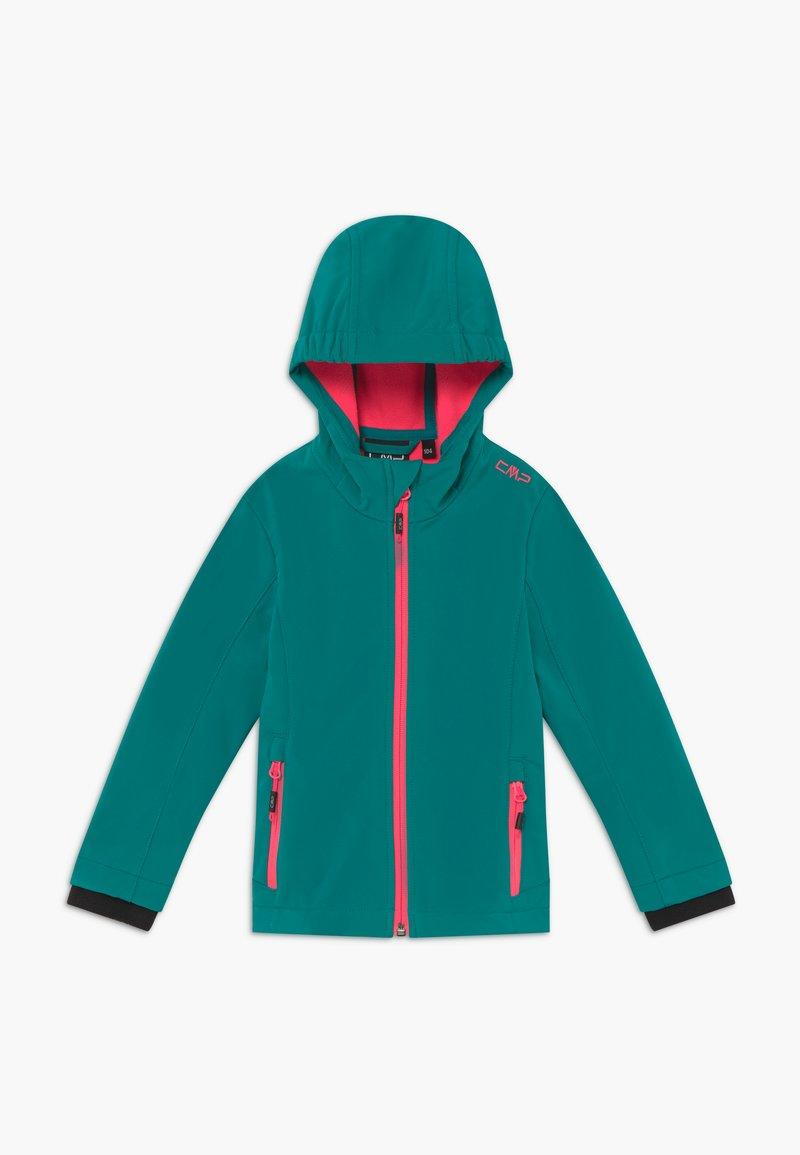 CMP - GIRL FIX HOOD - Soft shell jacket - lake