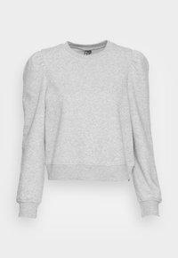 PCFRANCI - Sweatshirt - light grey melange