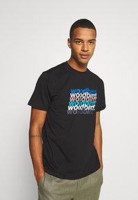 Woodbird - CREZ SHADOW TEE - Print T-shirt - black - 0