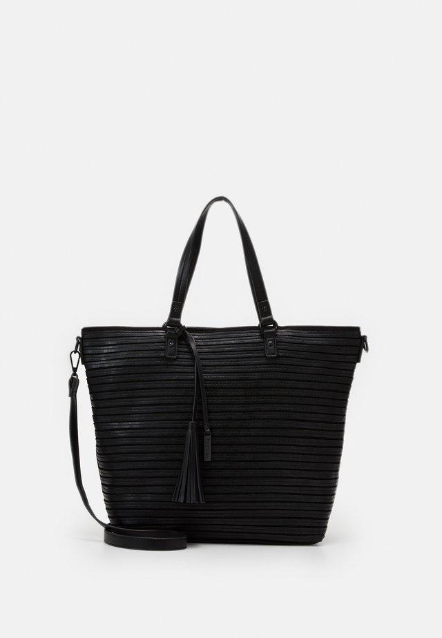 BARBARA - Tote bag - black