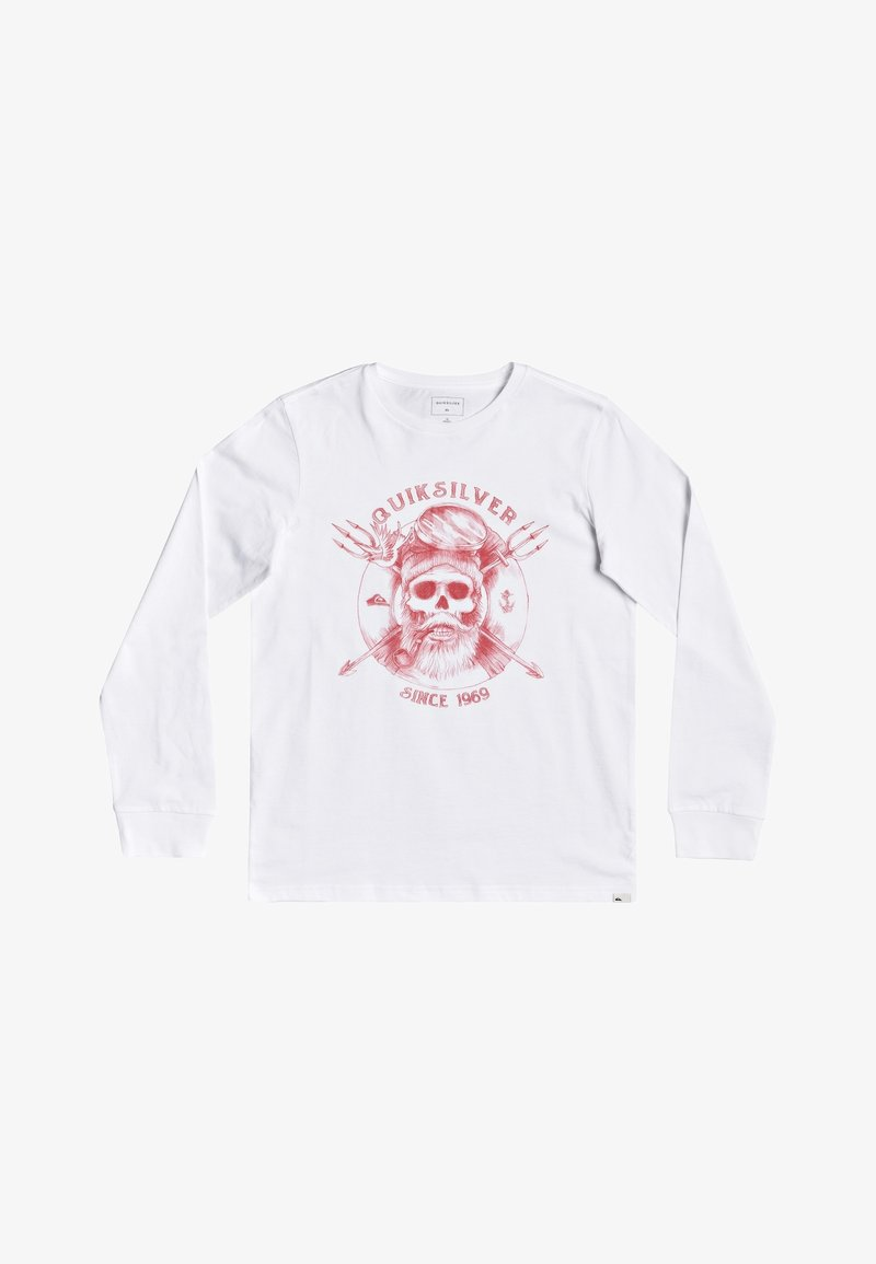 Quiksilver - Long sleeved top - white
