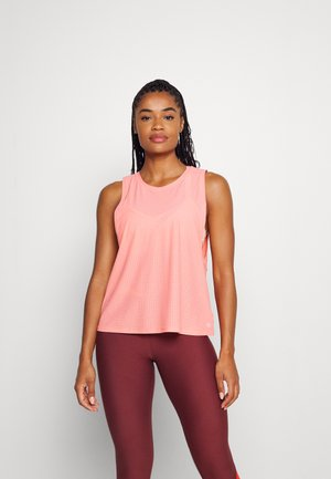 MUSCLE TANK - Topper - coral