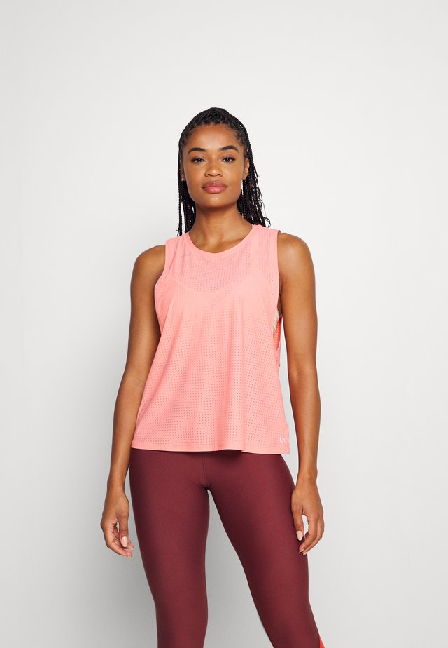 MUSCLE TANK - Top - coral