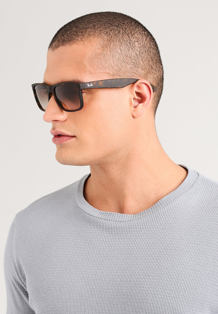 Ray-Ban - JUSTIN - Sunglasses - dark brown