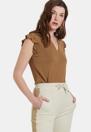 HADY TOP - Top - brown