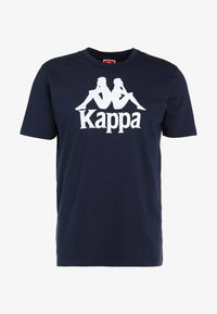 CASPAR - Print T-shirt - navy