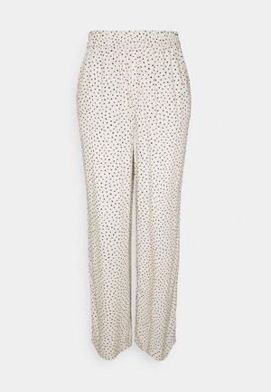 Pantalones - white dusty light
