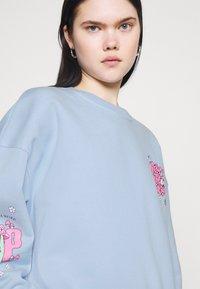 NEW girl ORDER - CHERRY TRIP  - Sweatshirt - blue - 3