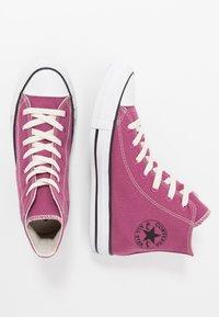 Converse - CHUCK TAYLOR ALL STAR RENEW CANVAS - Baskets basses - mesa rose/black/white - 1